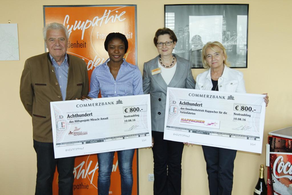 Spende, Stiftung