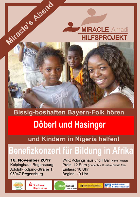 Read more about the article Benefizkonzert am 16. Nov. 2017