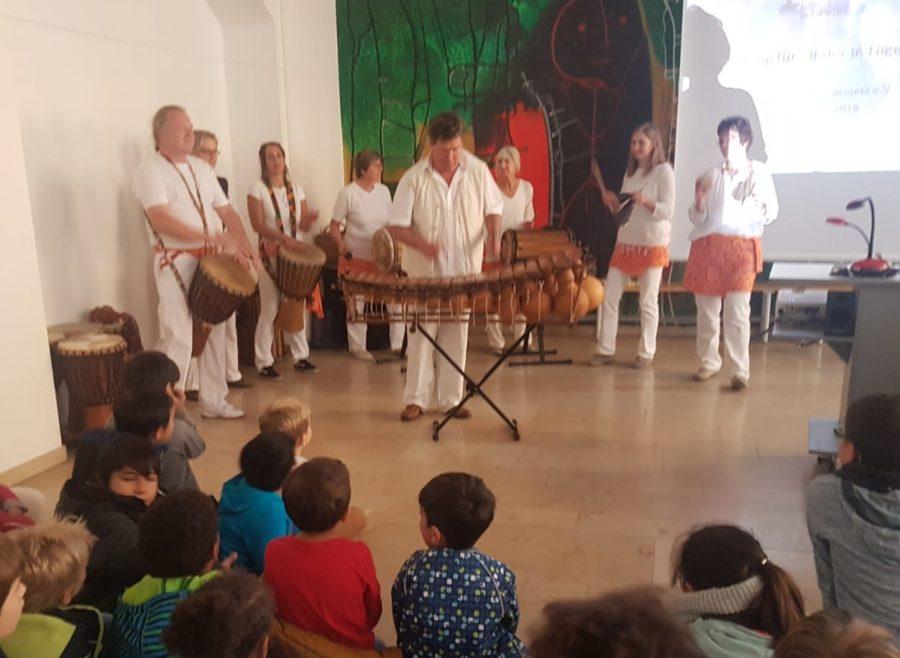 Read more about the article Ein Hauch von Afrika am 5. Oktober 2018 an der Kreuzschule Regensburg