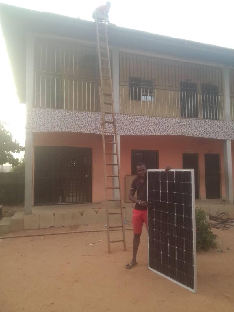 Dank eigenem Solarstrom energieautark